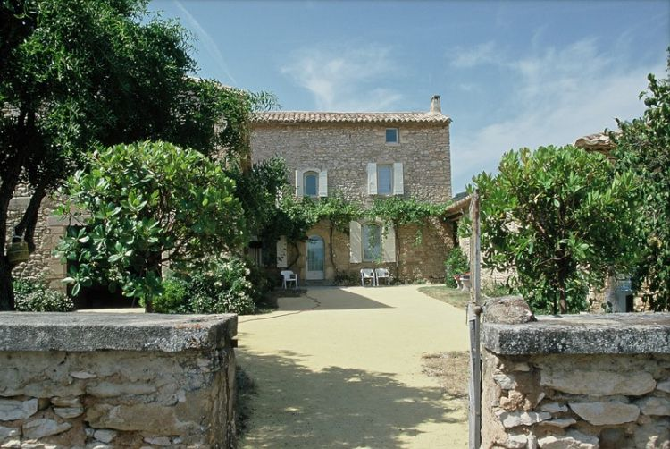 Restauration de ferme du xviiie gordes architecte pour for At home architecture 84220 gordes