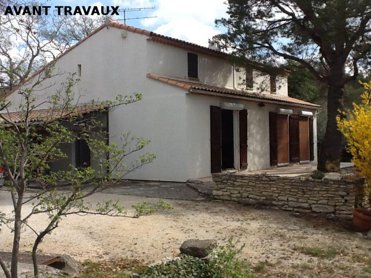 Renovation de maison en panneau prefabrique cabrieres 2013 architecte pour maisons gordes for Prefabrique maison