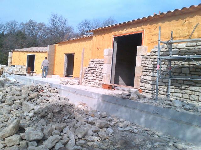 Isolation maison neuve murs en 2014 architecte pour maisons gordes hugu - Isolation maison neuve ...