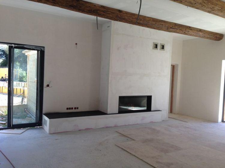chemin e contemporaine architecte pour maisons gordes. Black Bedroom Furniture Sets. Home Design Ideas