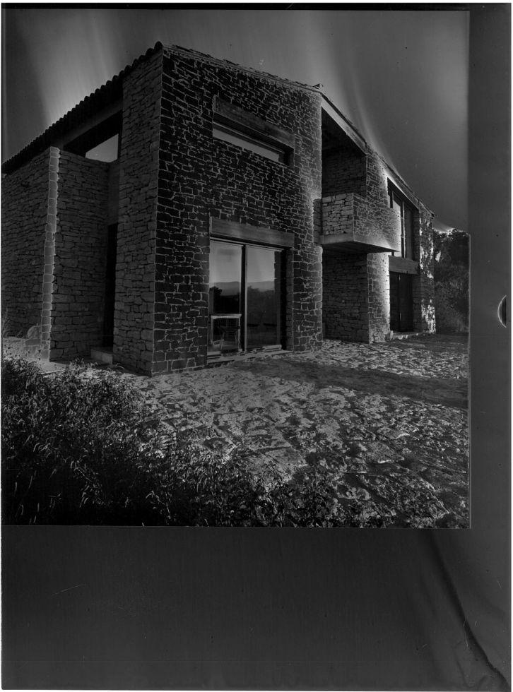 Le domicile de l 39 architecte gordes 1978 architecte pour for Le architecte