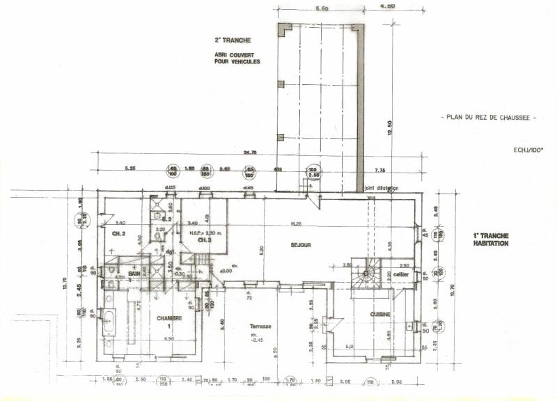 Maison neuve en pierre de pays en 2015 architecte pour for Plan maison pierre